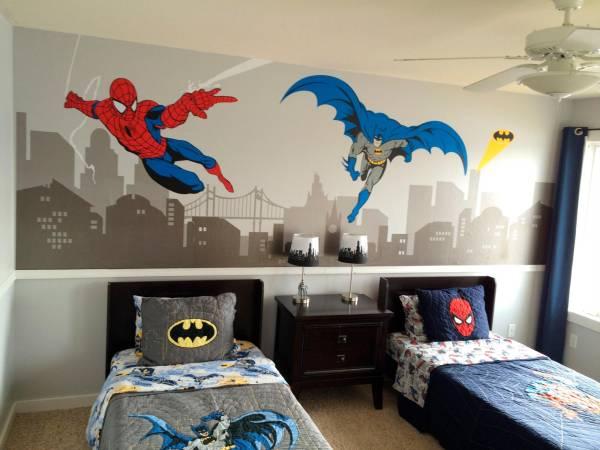 Habitaciones para pequeños superhéroes